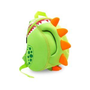 NOHOO Kinderrucksack für Kindergarten,Schule und Wandern,für 2-5 Jahre Mädchen und Jungen, Dinosaurier,Grün