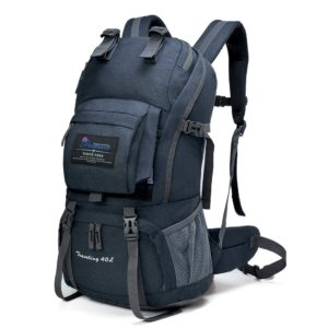 Mountaintop 40 Liter Erwachsene Backpacker Rucksack Trekkingrucksack,51 x 35 x 16 cm