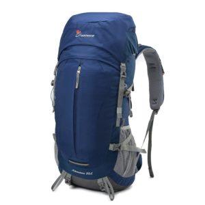 Mountaintop 50L Erwachsene Backpack Rucksack Trekkingrucksack mit einer Regenabdeckung,64 x 30 x 21 cm