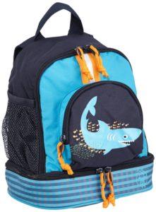 Lässig Kinderrucksack Mini Backpack Shark, ocean
