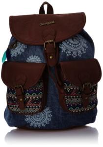 Rucksack-Damen.eu Desigua Damen Tasche Bols DAKAR AFRICAN ART 50X59C9 5006 JEANS